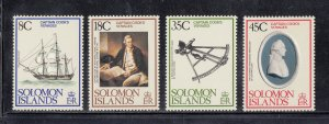 Solomon Islands Scott #381-384 MNH