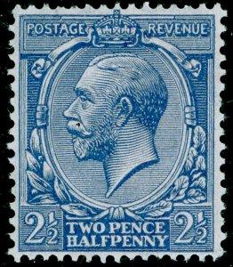 SG422 SPEC N37(2), 2½d pale blue, LH MINT. Cat £10.