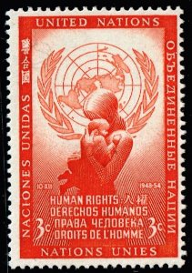 United Nations New York #29  1954  MNH/OG STAMP