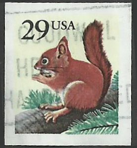 # 2489 USED RED SQUIRREL