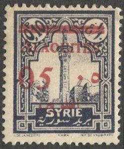 ALAOUITES Syria 1928 Sc 46  5c on .10p MLH VF