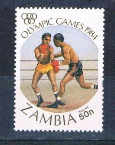 Zambia 307 MNH Olympics Boxing 1984 (Z0006)+