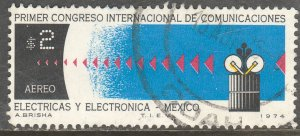 MEXICO C432 Cong of Electric & Electronic Communic Used. VF.  (447)