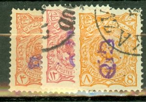 P: Iran 120-135 used sold AS IS CV $934; scan shows only a few