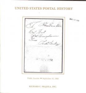 Frajola: Sale # 10  -  United States Postal History, Fraj...