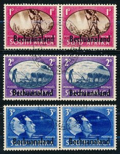 Bechuanaland Protectorate #137-139  Set of 3 Used