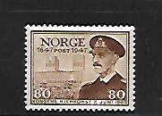 NORWAY, 289, USED,KING  HAAKON VII