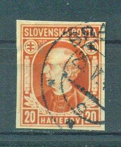 Slovakia sc# 25 used cat value $.40