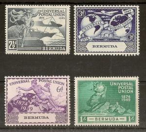 Bermuda 1949 UPU Set Mint