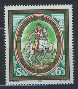 AUSTRIA 1985 MNH SC.B350 Stamp Day