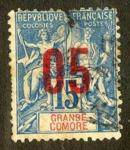 GRANDE COMORE 22 USED BIN $1.00 MARITIME