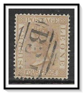 Sierra Leone #30 Queen Victoria Used