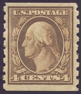 US Scott #395 Mint, VF, HR