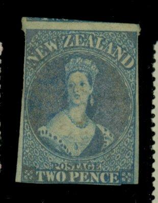 New Zealand #12d Used F-VF Tiny thin Cat$215