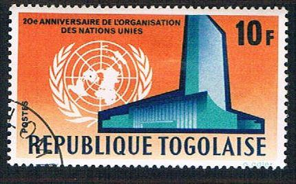 Togo 546 Used United Nations (BP12411)