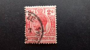 British Honduras 1913 -1917 Definitive Issue: King George V  Used
