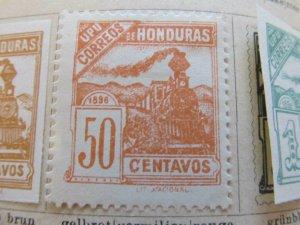 Honduras 1898 50c fine mh* stamp A11P12F38