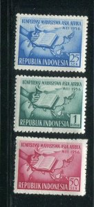 Indonesia #241-3 Mint