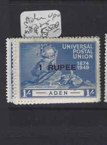 ADEN    (P0310B)  UPU     KGVI  SG  32-5  MOG