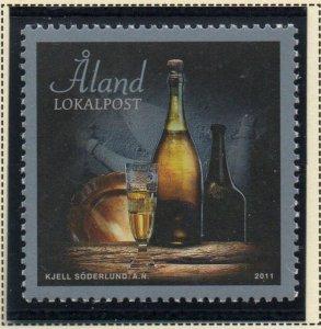 Aland Finland Sc  317 2011  Old Champagne Bottles mint NH