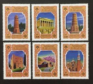 Kyrgyzstan 2005 #273-8, Europa 50th Anniversary, MNH.