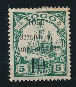 Togo Stamp Scott #156, Mint Hinged - Free U.S. Shipping, Free Worldwide Shipp...