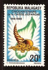 Malagasy  Republic  #  419  Mint