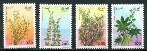ALGERIA 1982 MEDICINAL PLANTS - FLOWERS - FLORA - MEDICINE SET - $4.10 VALUE!