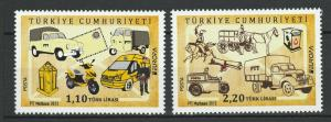 Turkey 2013 CEPT Europa 2 MNH stamps