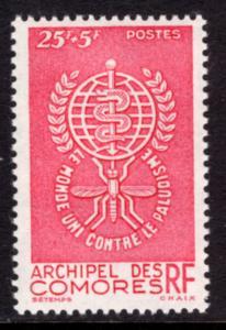 Comoro Islands B1 Malaria MNH VF