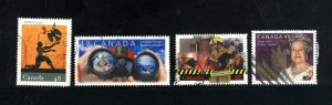 Canada #1984-87  -4   used VF 2003 PD