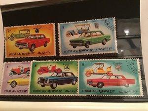 Umm Al Qiwain Car  stamps R21599