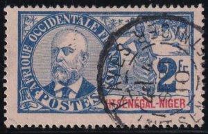 Upper Senegal 1906-1907 SC 16 Used