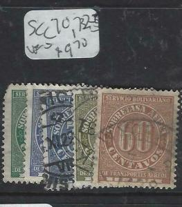 COLOMBIA  (PP0606B)   A/M    SC C70, 72-5   VFU