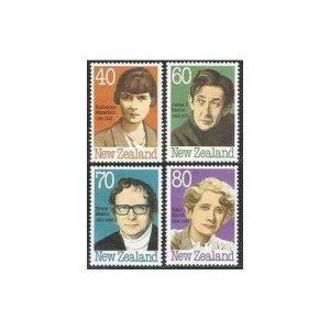 New Zealand 946-949,MNH.Michel 1066-1069. Portraits of famous persons,1989.