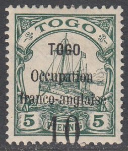 Togo 154 MH CV $25.00