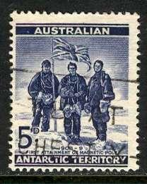 Australian Antartic Terr.; 1961: Sc. # L6: O/Used Cpl. Set