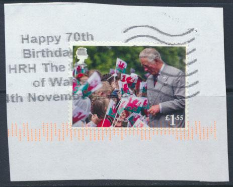 Great Britain Prince Charles 70th Birthday 2018  £1.55 value   see scan