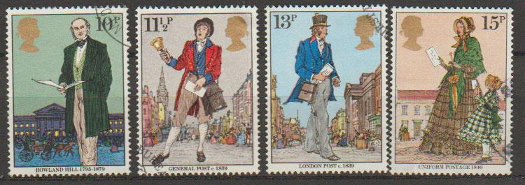 Great Britain SG 1095 - 1098 set Used