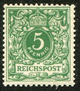 Deutsches Reich  Sc.# 47 MNH**