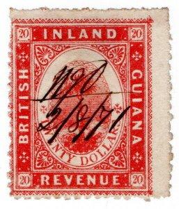 (I.B) British Guiana Revenue : Inland Revenue $20