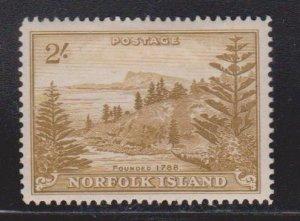 NORFOLK ISLAND Scott # 12 MH - Pine Trees