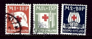 Finland B2-4 Used 1930 Complete set