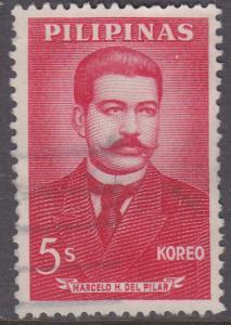 Philippines 856 Marcelo H. del Pilar 1963
