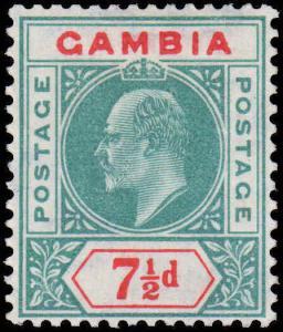 Gambia  Scott #54  MH