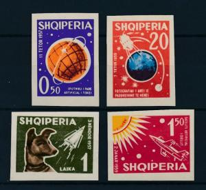 [96950] Albania 1962 Space Travel Weltraum Imperf. MNH