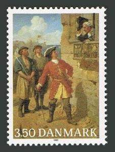 Denmark 928,MNH.Michel 990. Tordenskiold,Peter Wessel,Admiral,1990.