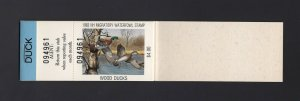 NEW HAMPSHIRE: #NH1 1983 $5.50 Wood Ducks COMPLETE BOOKLET OF 10, MNH