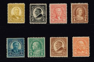 US STAMP 1920 -30 MH STAMPS COLLECTION LOT #M3