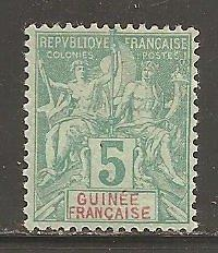 French Guinea  SC  4  Mint Hinged